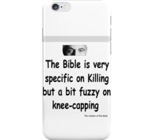 The Rev Book Killing / Knee-capping iPhone Case/Skin