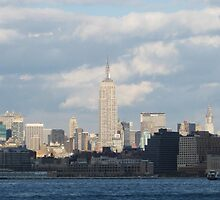 The Empire State Building by tuerkiso