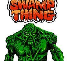 Swamp Thing by dahbie