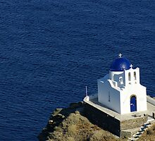 petit church in Sifnos, Greece by Asian-Roads