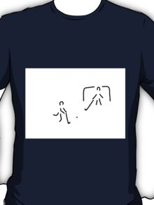hockey field hockey rolling hockey player T-Shirt