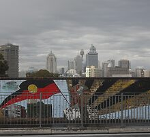 Redfern Mural and City by blaq produx