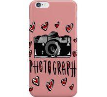 I love photograph iPhone Case/Skin