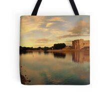Carew Castle and Bridge Tote Bag