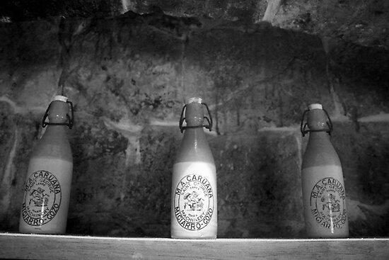 Old bottles by Christian  Zammit