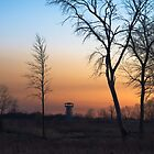 Sunset at the Tower Preserve by Timothy  Ruf