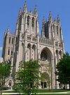 National Cathedral by Jeff Clark