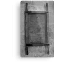 Old sieve Metal Print