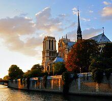 Notre Dame, Paris by Alan McMorris