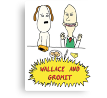 Wallace and Butthead Canvas Print