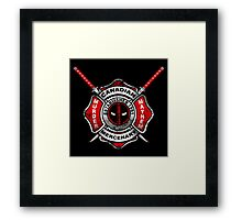 Wilson Firehouse Framed Print