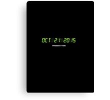 Oktober 21 2015 Canvas Print