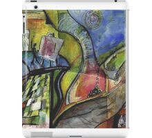ARTIST IN ABSTRACT LANDSCAPE(C1998) iPad Case/Skin