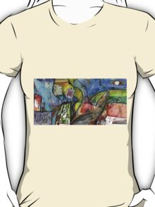 ARTIST IN ABSTRACT LANDSCAPE(C1998) T-Shirt