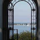 Doorway to Long Island Sound by jeffrae