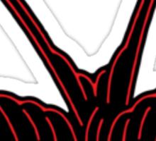 Red Swallow Sticker