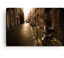 Roma Street Scene Canvas Print