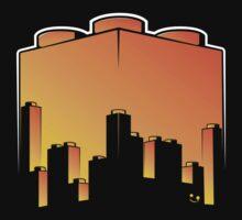 BrickCity Sunset by futuristicvlad