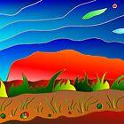 Uluru by pixnhits