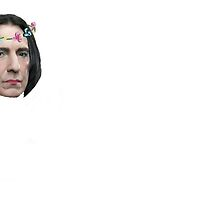 Flower Crown Snape by cynicalparakeet