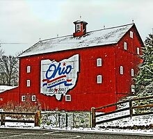 Ohio Bicentenial Barn by Kate Adams