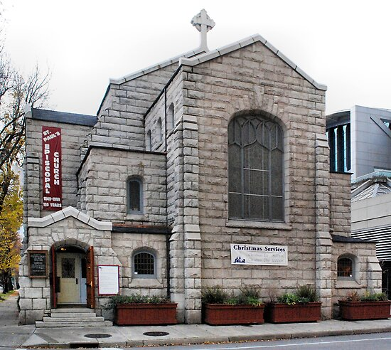 St Paul's Episcopal Church by Lenny La Rue, IPA