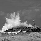 sea waves by Etienne RUGGERI Artwork eRAW
