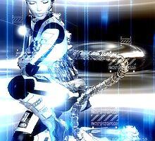 Sci Fi Robot Girl, Futuristic Beauty! by TK0920