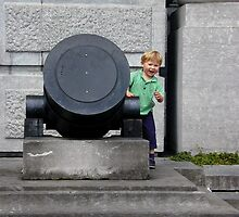 War and the child by garryr