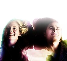 The Vampire Diaries - Stefan And Caroline by Dylanoposey
