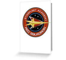 StarTrek - Red Squadron Greeting Card