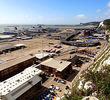 """UK: """"Dover Ferry Terminal 3"""", Kent by Kelly Sutherland"""