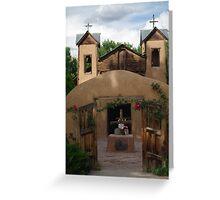 Santuario de Chimayo, Walled Gate Greeting Card