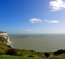 """UK: """"White Cliffs of Dover 6"""", Kent by Kelly Sutherland"""