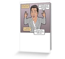 The Passion of the Mel Greeting Card