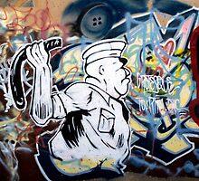 Graffiti Cop by J.  Roberts