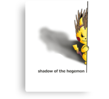 Shadow of the Hegemon Canvas Print