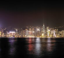 Hong Kong Harbour View by Chetan R