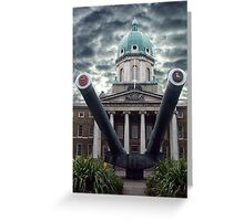 The Imperial War Musuem, London, England Greeting Card