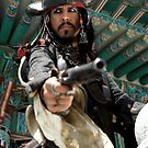 Pirates! Johnny Depp - Capt. Jack Sparrow by Bobby Deal