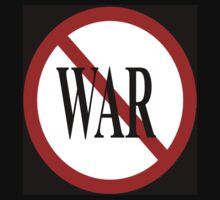 No to WAR ! by shyners