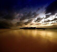 Maheno Wreck - Fraser Island by Garry Schlatter