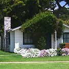 Cottage at Mission Ranch from famous movie by Marjorie Wallace