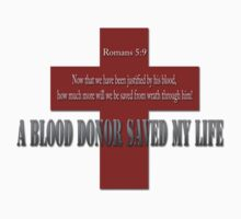 A Blood donor saved my life by Anibal