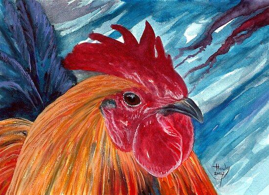 A Little Cocky by John Houle