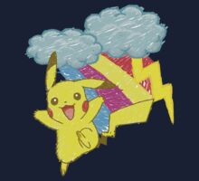 Pikachu Sky Kids Clothes