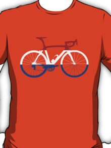 Bike Flag Netherlands (Big) T-Shirt