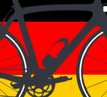 Bike Flag Germany (Big - Highlight) Sticker
