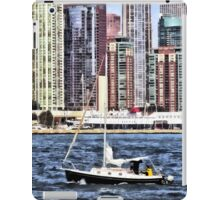 Chicago IL - Sailing on Lake Michigan iPad Case/Skin