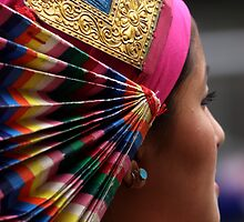 head dress. northern india by tim buckley | bodhiimages